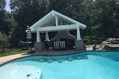 Custom Swim Up Bar Stools